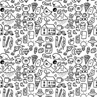 Shakey Illustrations: Doodle Pattern