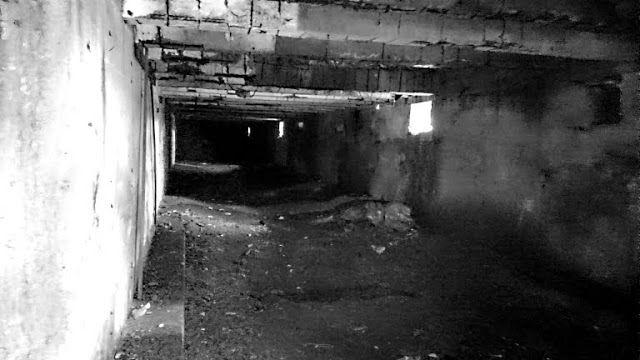 Long hall in Nazi factory Sendrazice