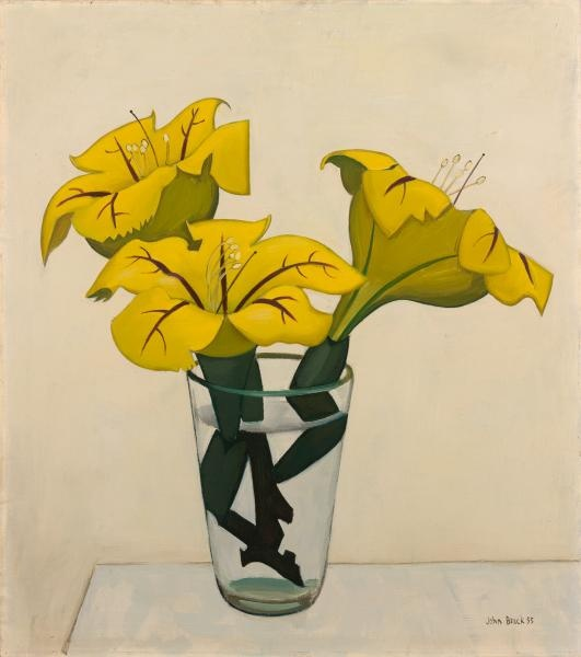 Solandra / John Brack / 1955 / oil on composition board / NGV