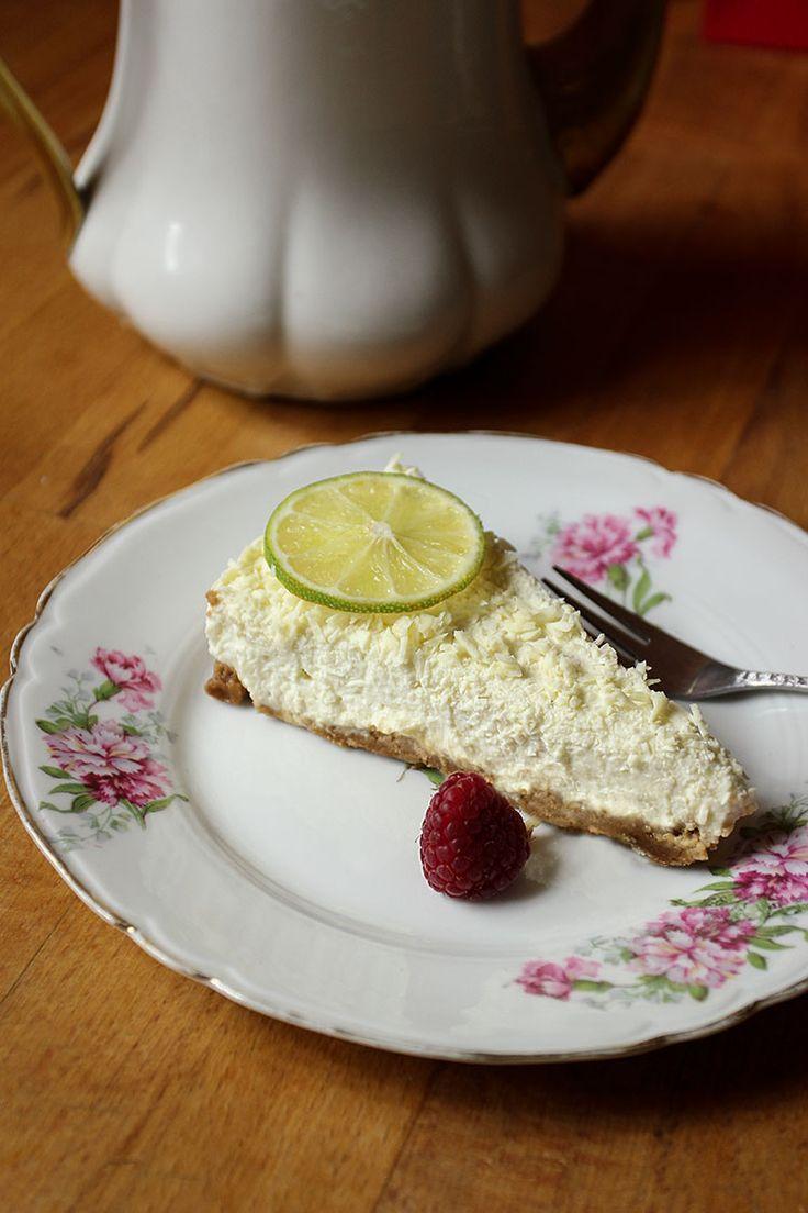 Cheesecake cru au citron vert