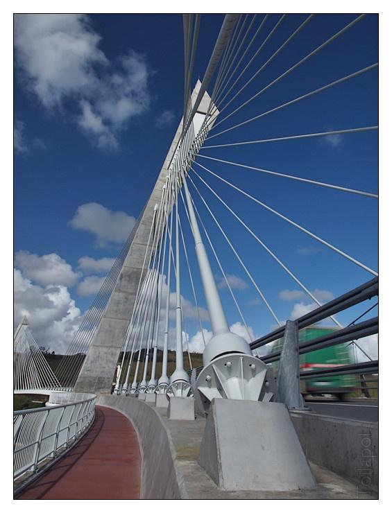 #Bretagne - #Finistère #architecture #bridge : pont de Terenez