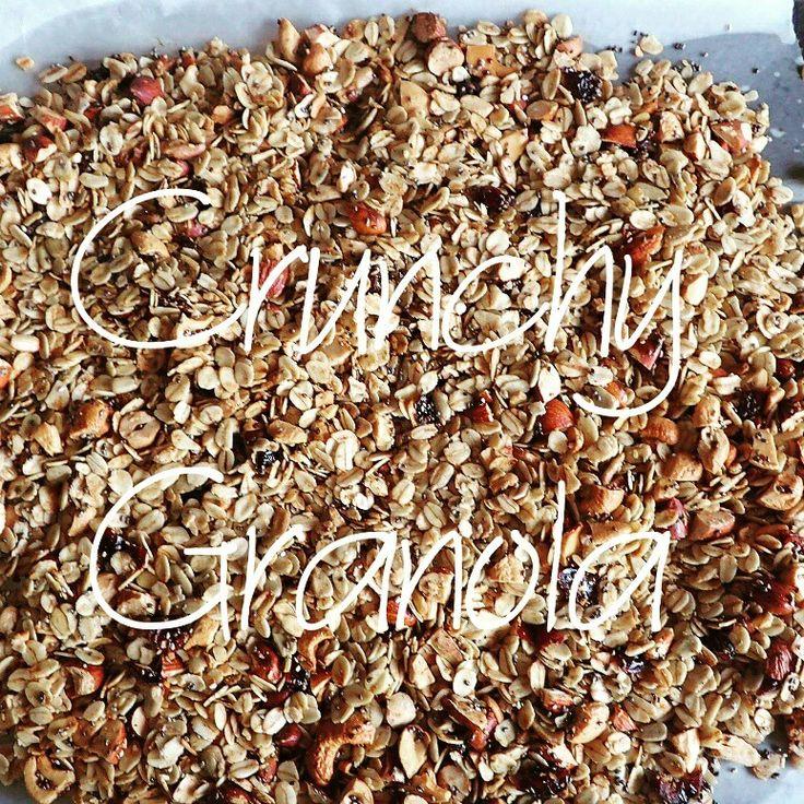 Try this delicious granola recipe.