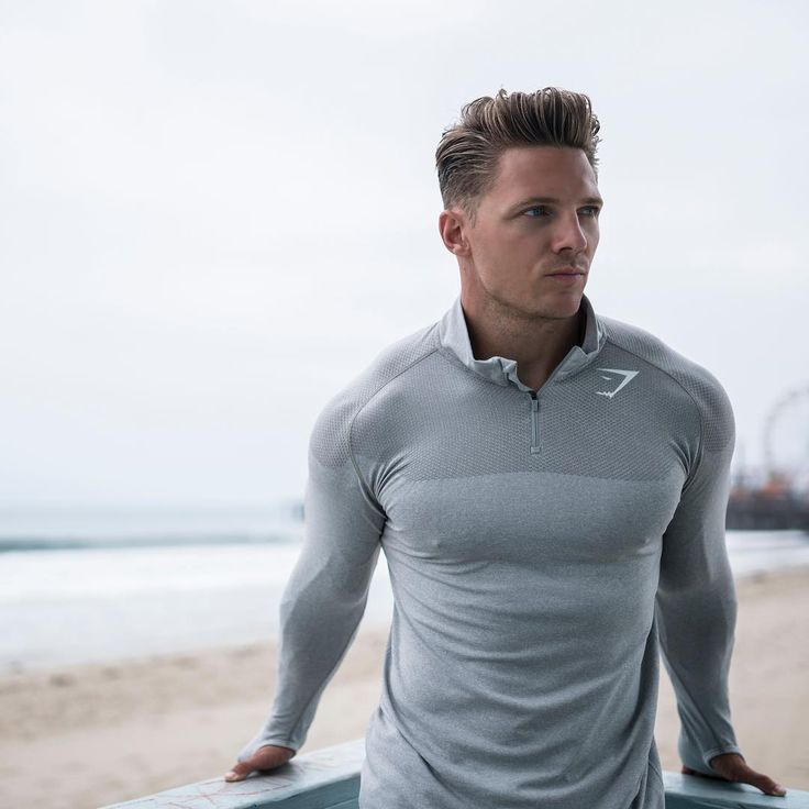 Keeping things fresh. Steve Cook works out in Gymshark.com