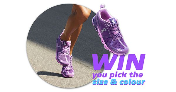 Tag your friends who love running! WIN FREE ON Running Cloudflyer valued $249. Winner announced when countdown hits ZERO! Click Here to Enter => https://csaactive.com.au/win/win-on-running-cloudflyer/ Enter and BOOST your chances of winning by sharing with friends!