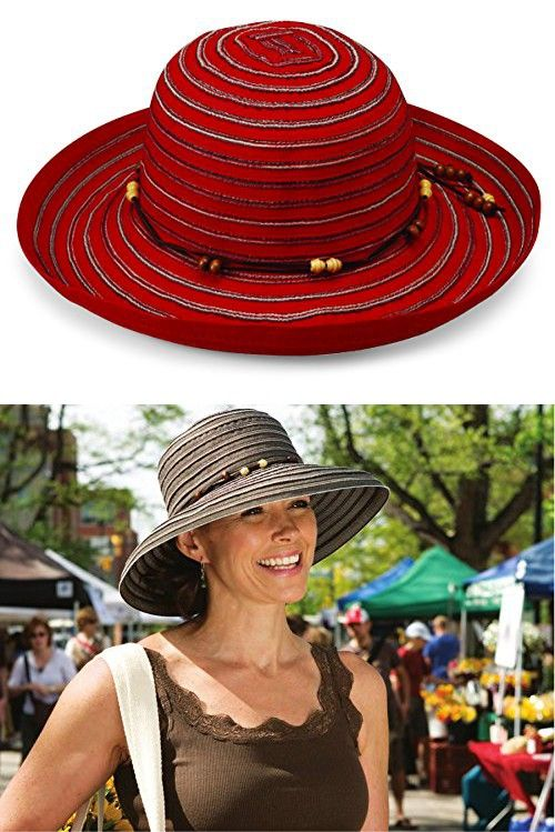 ffcff28259c Wallaroo Women s Breton Sun Hat - UPF 50+ - Packable