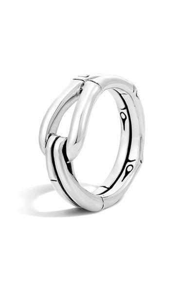 John Hardy 'Bamboo' Hook Ring available at #Nordstrom