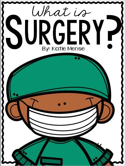 This FREE informational book is helpful in explaining what surgery is to young children. Whether the teacher or a student is having surgery, this is the perfect book for your class!