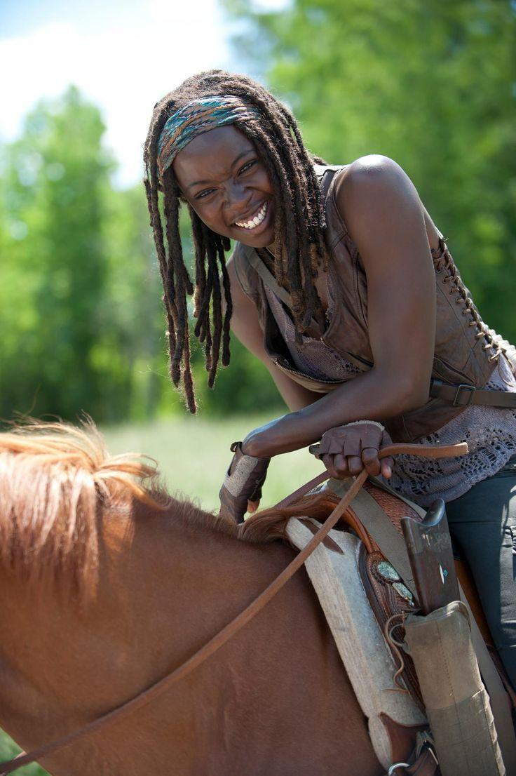 Danai Gurira as Michonne from The Walking Dead
