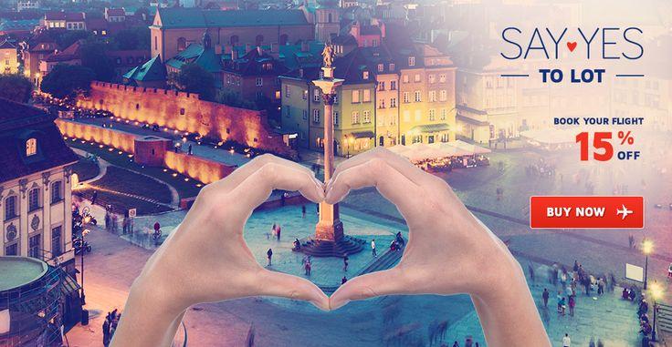 15% discount de Valentine`s Day la LOT | Airlines Travel