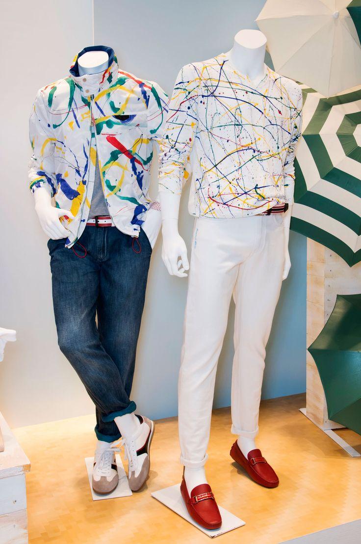 Harmont & Blaine Men's S/S '15 look book