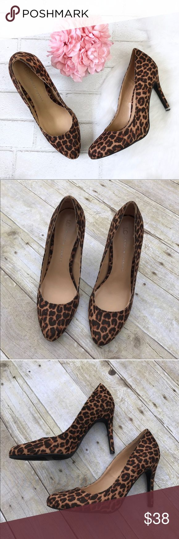 """LC Lauren Conrad Leopard Print Heels LC Lauren Conrad. Leopard Print Heels. Size 8. New, will come without box. Heel measures 4 inches. Can be worn casual, professional, or for a night out!   ❌ No trades or off Poshmark transactions.   👌🏻Quick shipping.   💁🏻Offers welcome through """"Make an Offer"""" feature.   ❔ Feel free to ask any questions. LC Lauren Conrad Shoes Heels"""