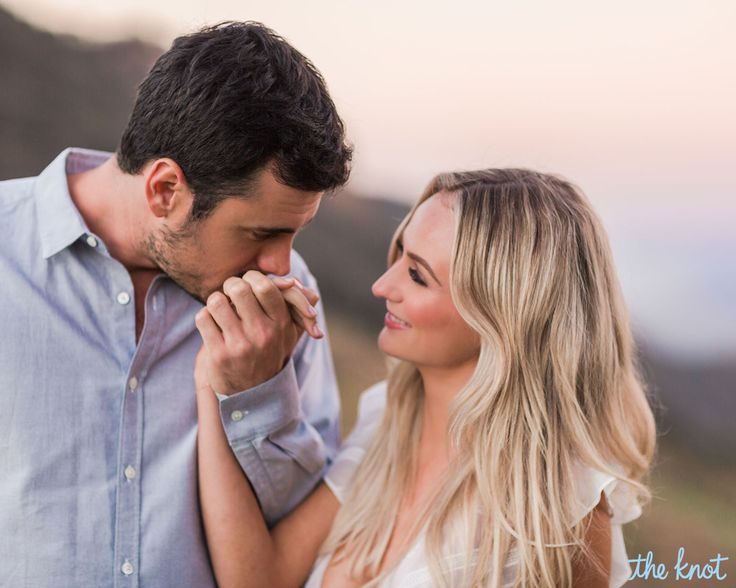 Still happily ever after. Ben Higgins addressed his engagement status with Lauren Bushnell via Instagram on Wednesday, February 1, after speculation that the season 20 Bachelor couple had split. The former franchise lead, 28, posted a throwback photo of himself kissing his future wife in Jamaica—moments after they got engaged on the finale.