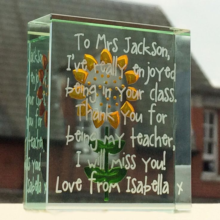 There are seven lines to be customised on this token, allowing you to really speak what you feel in your heart. #Love #Teacher #Gift #Customised #Personal #Token #Spaceform #London