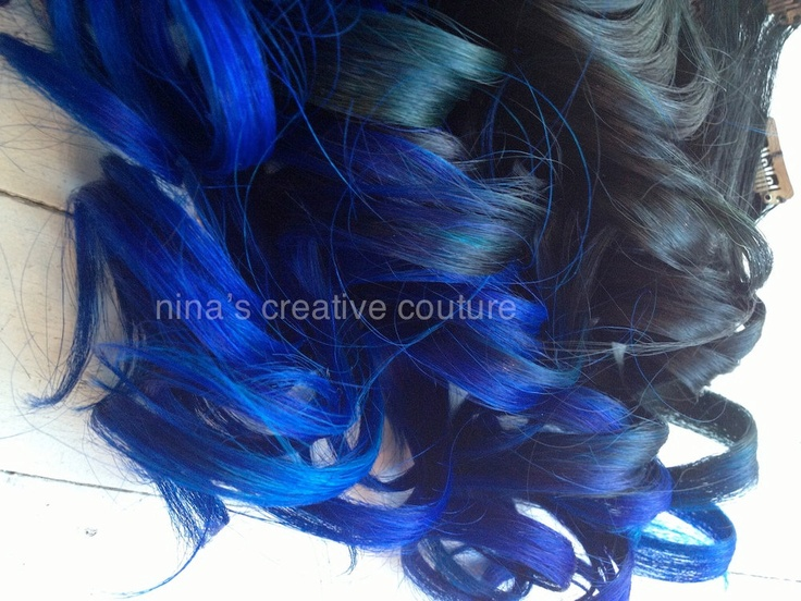 101 best studio she hair extensions images on pinterest ombre tape hair extensions blackvibrant blue hair extensionsblue ombre pmusecretfo Images