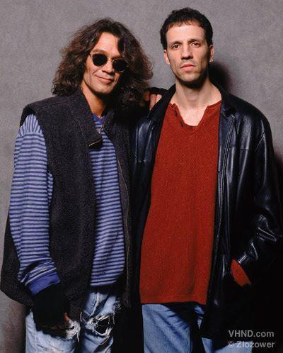 Eddy Van Halen y Gary Cherone