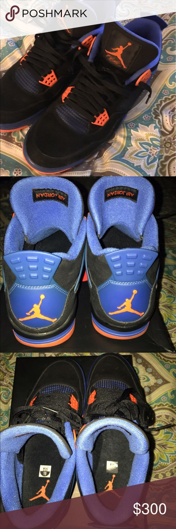 Air Jordan retro 4 caves size 10 These are super fresh on carpet 1 time dead stock 2012 retro 4 caves nicks size ten with box Jordan Shoes Athletic Shoes