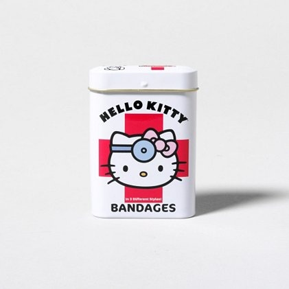 Fix that boo-boo with the cutest Hello Kitty Bandages