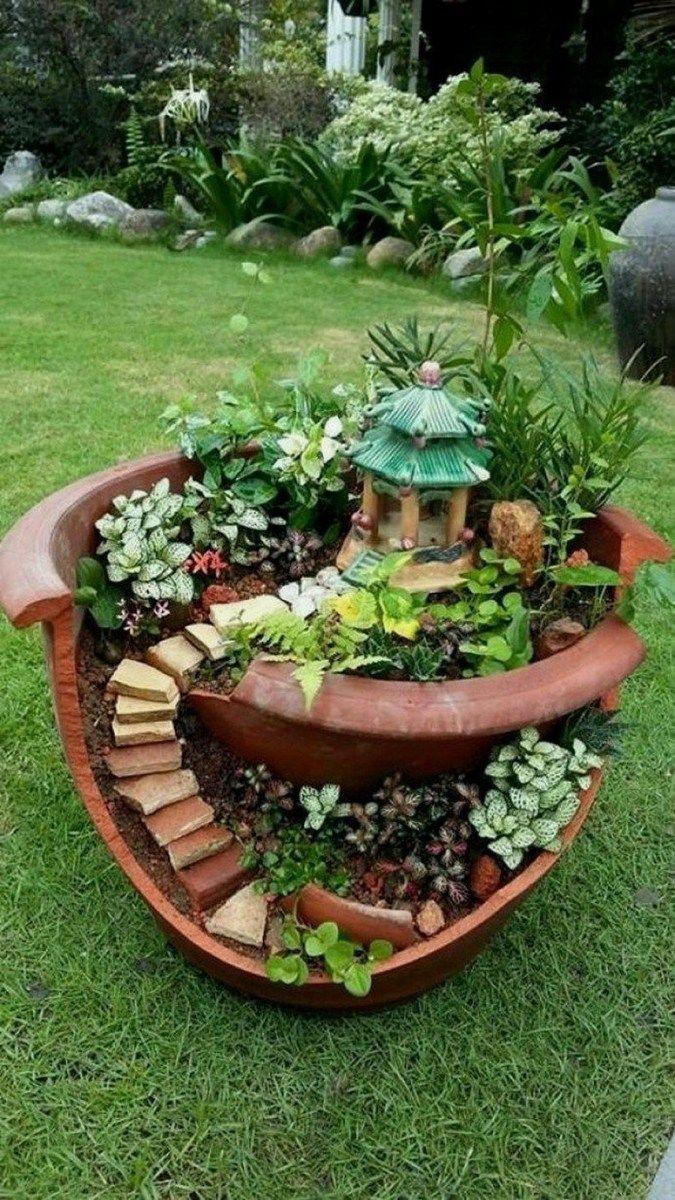 How To Save Money On Your Home Insurance Home Designs Fairy Garden Pots Broken Pot Garden Fairy Garden Diy