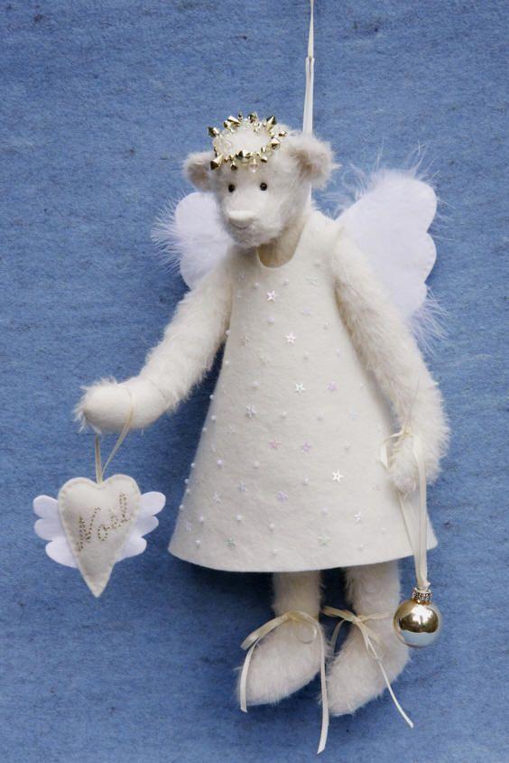 kerstengel Noël lovely idea for the dress