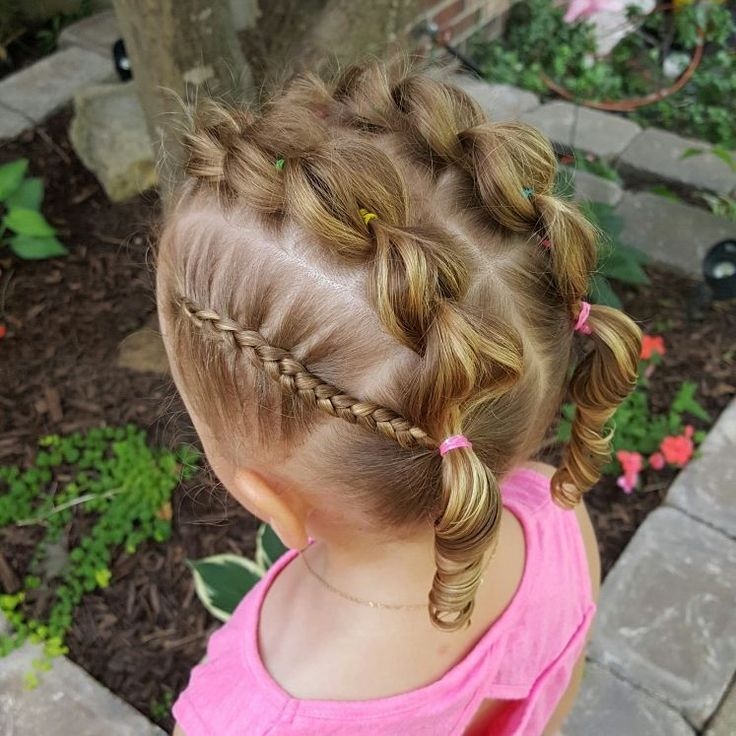 2 pull through braids and 2 side lace Dutch braids into Pigtails   I'm finally getting the hang of doing different braids  I still have more to learn!  Swipe ⬅ for more photos   #blondehairncurls #hairstyles #curls #girlshairstyles #pullthroughbraid #dutchbraids #pigtails #braids #bows #messybuns #zigzag #braidbuns #elastics #diamonds #ponytails #ropebraid #frenchbraids #fiftystyle