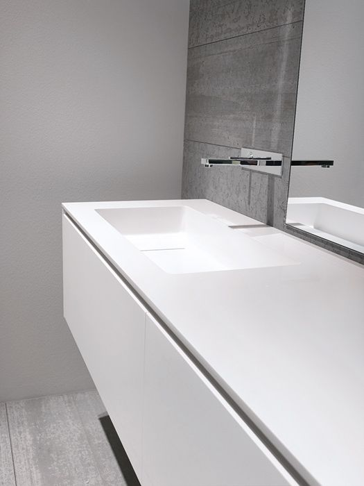 Minimalist bathroom design, CASABATH - HiTech 2 Collection