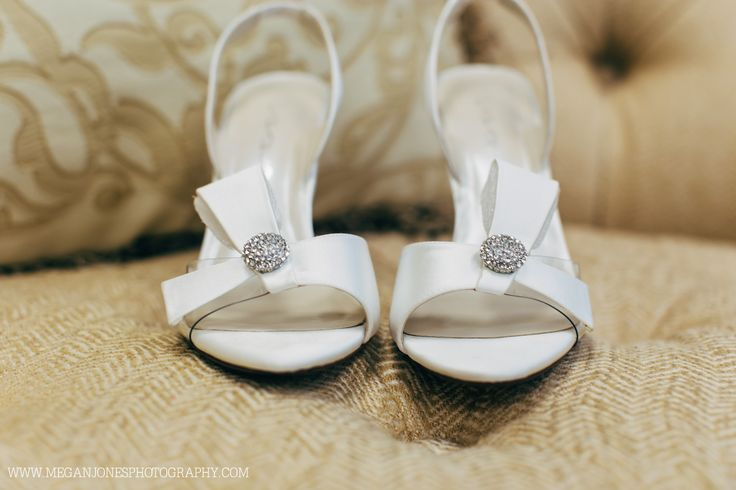 Wedding Photography // Campbell University // Butler Chapel // Megan Jones Photography// Shoes