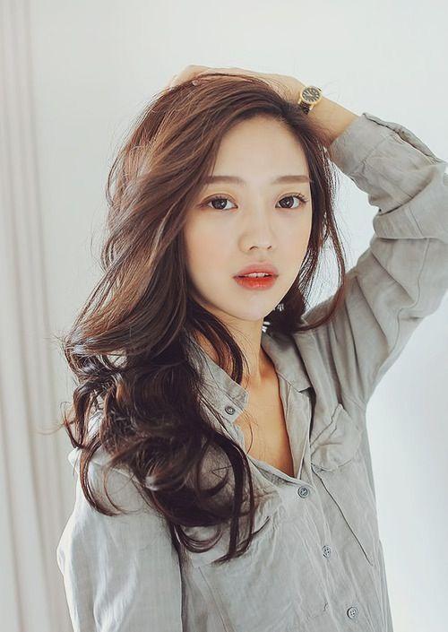 Model Rambut Wanita Panjang Pendek Keriting Gaya Pokeronline Agenpoker Gbkpoker Hair Styles Asian Beauty Hair Color Asian