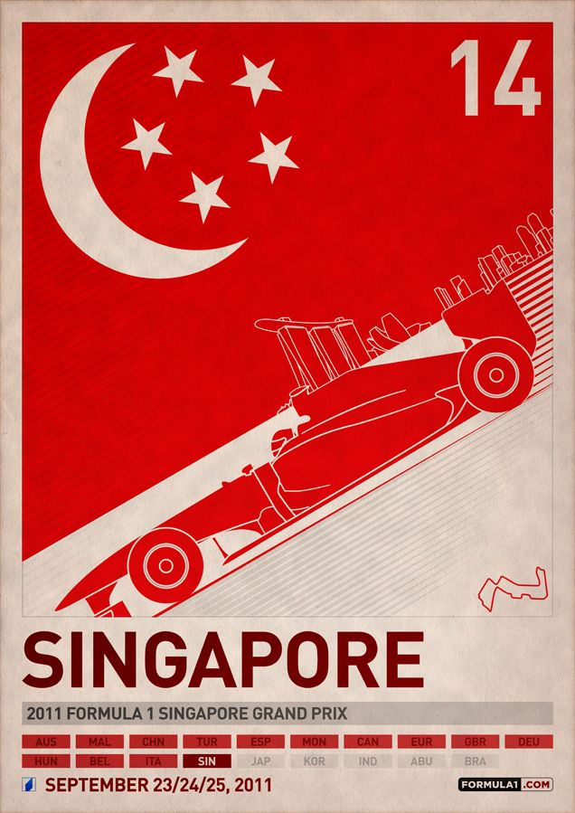 F1 2011 Posters