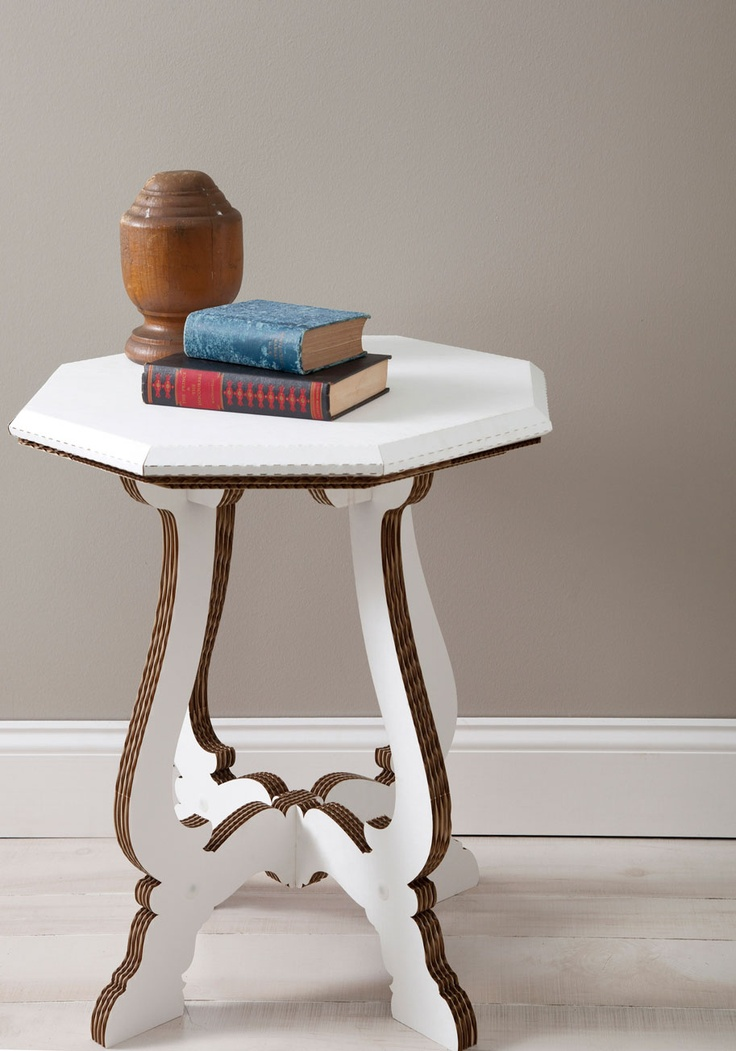 Fold World Charm Cardboard Table   Mod Retro Vintage Decor Accessories   ModCloth.com