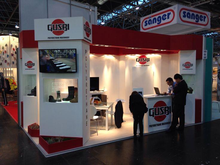 A+A - Düsseldorf: GUSBI. Ricerca, analisi, promozione e comunicazione. Progettazione e realizzazione dell'allestimento dello stand. Photo by honegger