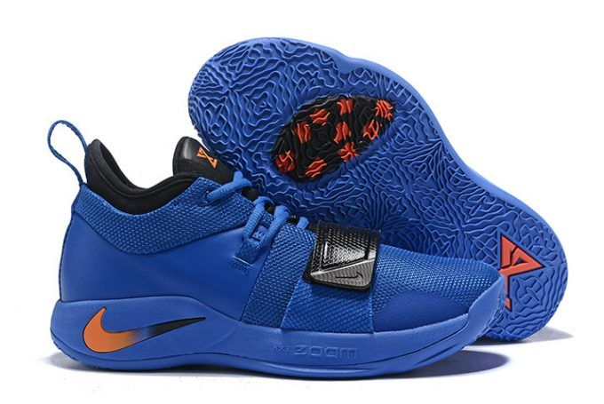 the best attitude 73e2f dc859 Nike PG 2.5 Royal Blue Black-Orange Men s Size-1