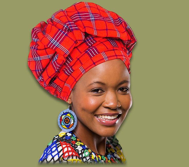 African Headwrap - Headscarf - Doek