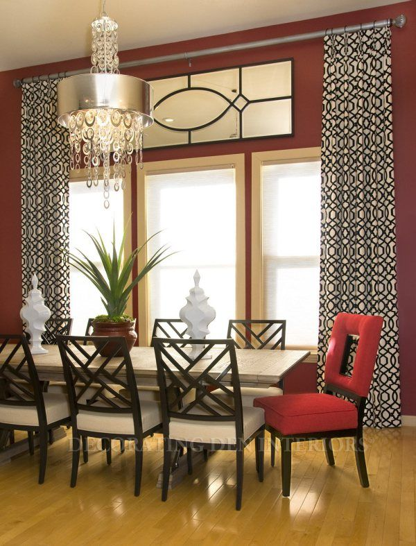 Charming Open Up Your Room And Make A Space Feel Larger By Hanging A Single Curtain  Rack Across Multiple Windows, Rather Than Treating Them Individually. Photo Gallery