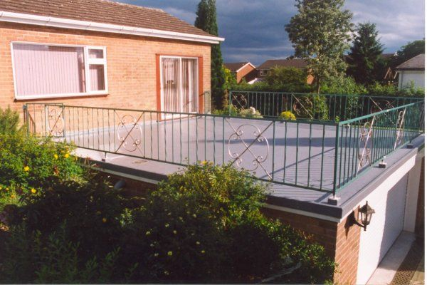 Flat Roof Garage Google Search Rooftop Patio Flat