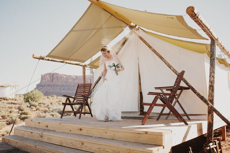 Moab Desert Wedding — Under Canvas Events / Photo: James Moes