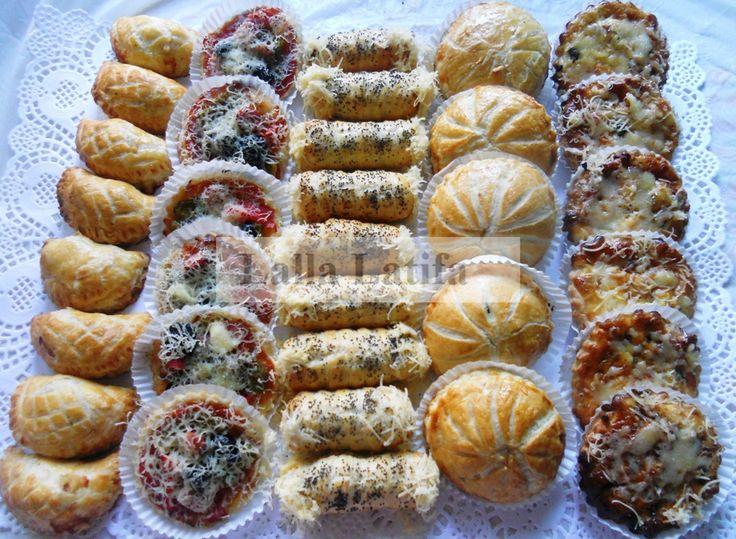 Les secrets de cuisine par Lalla Latifa - Salés à la pâte feuilletée