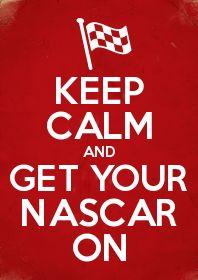 keep calm nascar