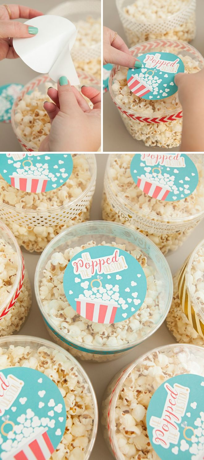 25 Best Ideas About Popcorn Favors On Pinterest