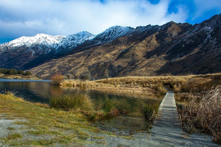 moke lake campsite new zealand nz queenstown