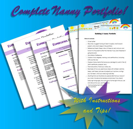 41 best The Nanny Business images on Pinterest Parenting, Nanny - perfect nanny resume
