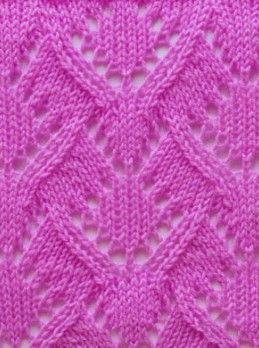 Lace Knit Stitch Pattern Mais