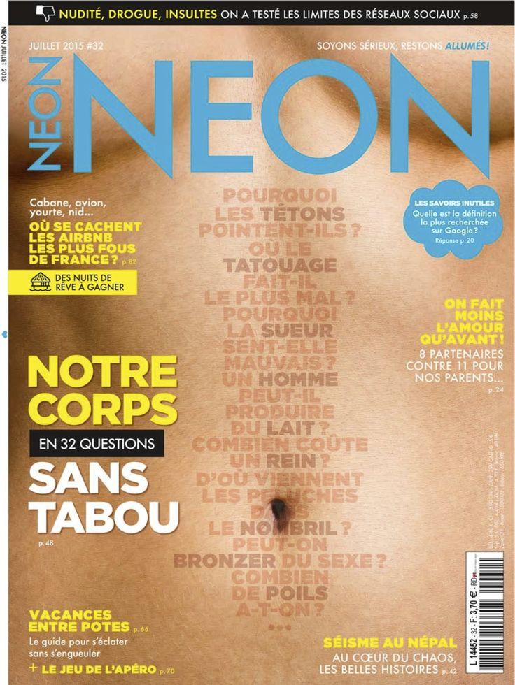Magazine NEON n°32 - juillet 2015