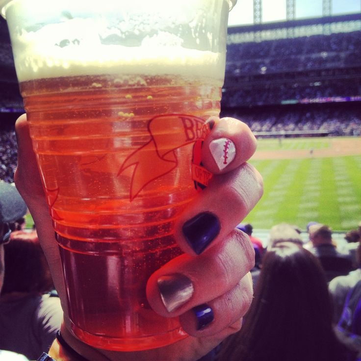 My @Colorado Rockies Opening Day nails