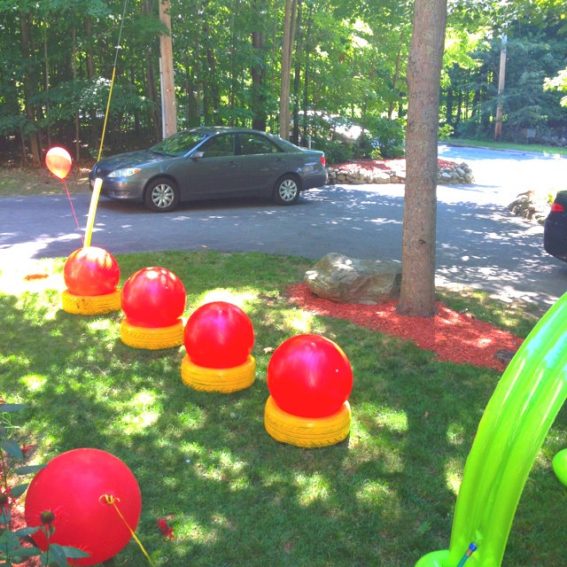 12 best Wipeout Birthday Party images on Pinterest Birthdays