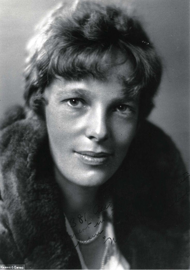 The worlds most famous female aviator disappeared in 1937, as she attempted to become the first woman to fly around the world. With her navigator, Fred Noonan, her Lockheed Electra was last heard from about 100 miles from the tiny Pacific atoll, Howland Island, on July 2, 1937. President Roosevelt authorized an immediate search; no trace was ever found; notwithstanding the endless efforts by conspiracy theorists to find evidence that she landed on an island.