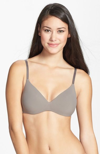 Calvin Klein 'F2781' Soft Cup Contour Bra (Online Only) available at #Nordstrom