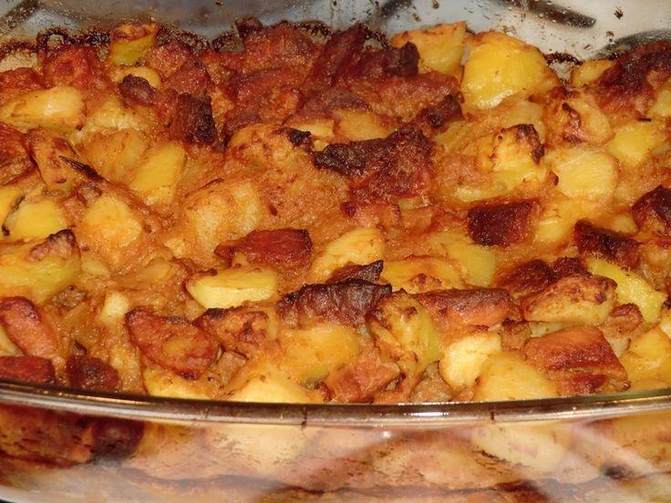Brassói aprópecsenye recept (főttkrumlis)