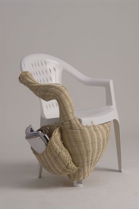 Grotesque parasitic furniture species. - for steampunk would need diff materials but hilarious idea