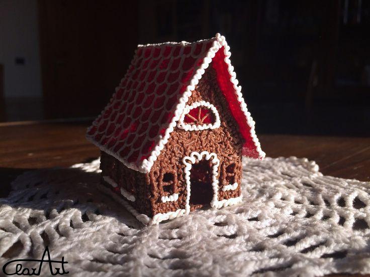 3D Pen Gingerbread House ClarArt - creations & ideas