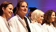 witte jassen ceremonie